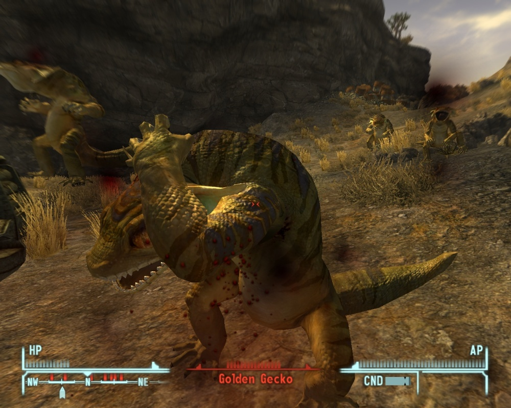 There is a good variety of critters to brutally murder. Just because they're mutants doesn't make them bad people...