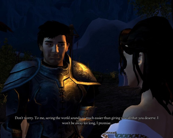 How many games open with a romance subplot?