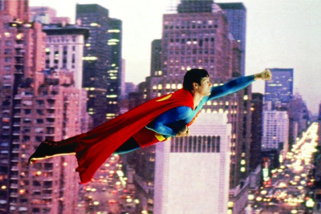With all the technology in the world, we still can't stop Superman's flying from being hideously embarrassing.