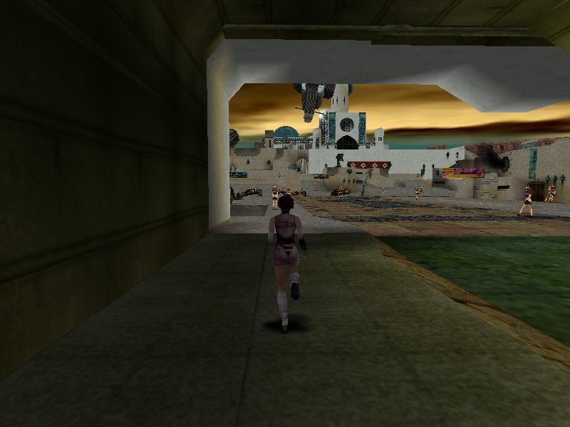 It's got a waaay longer draw distance than Tomb Raider, I'll give it that.