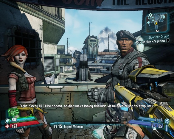Pretty much the entire cast of Borderlands 1 makes a reappearance, with delightfully fleshed-out backstories to fill in the silent-protagonist natures they were all born with.