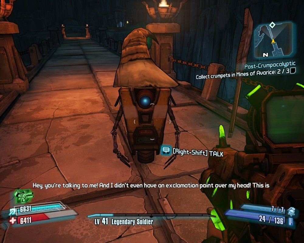 It is, and always will be, all about the Claptrap.