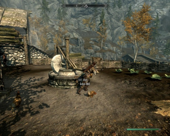 It's all about the daily grind in Skyrim.