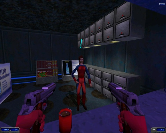 I was sorely tempted to open fire when she refused to serve me alcohol while I was on duty.