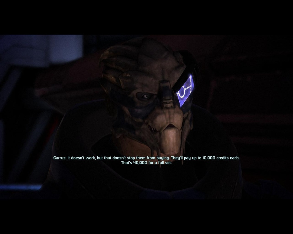 It wouldn't be a blog about Mass Effect if I didn't include this ol' chestnut.