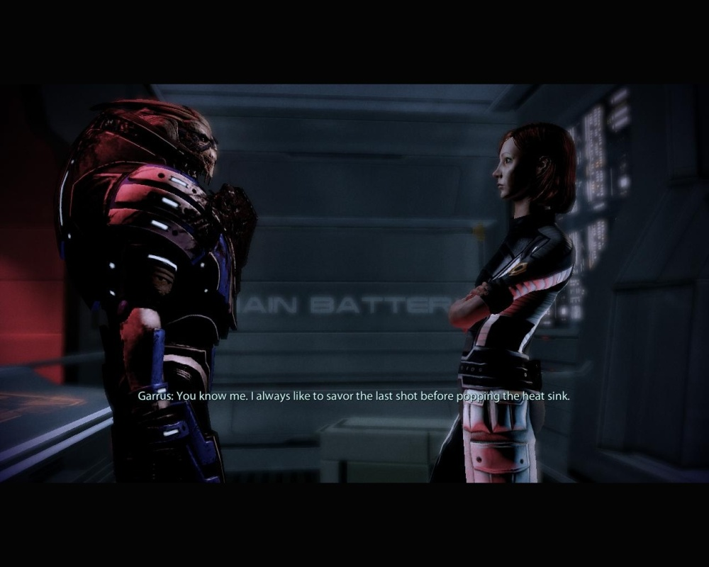 I love it when you talk dirty to me, Garrus.