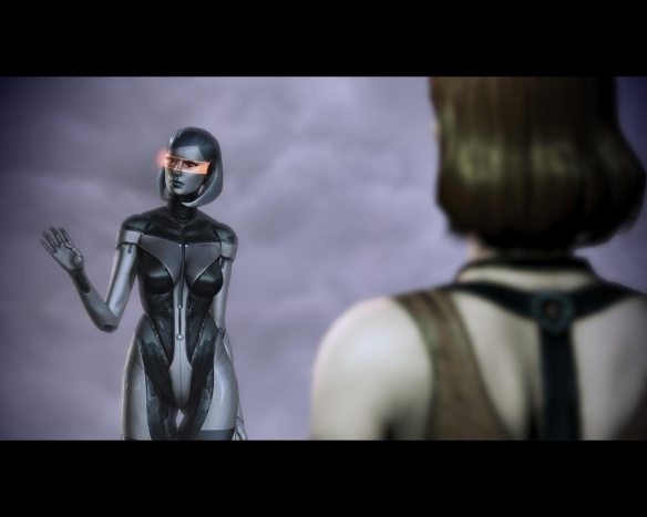 Just when you thought you could take Mass Effect seriously...