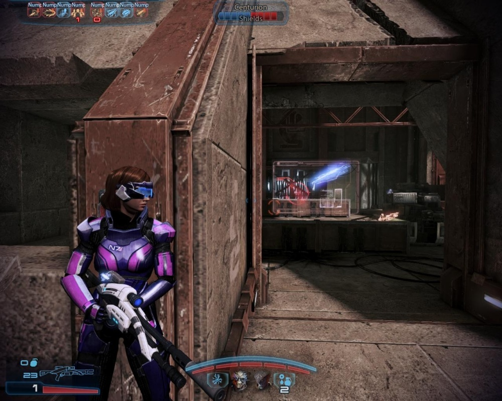I'm not sure what dressing Shepard up like some kind of Power Ranger says about me.