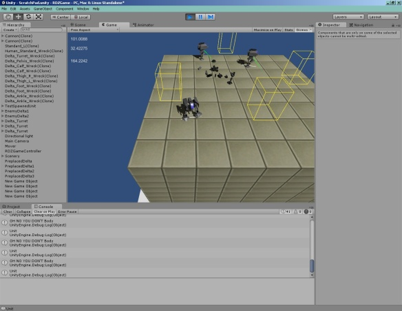 I added strafing. I don't think it'll have much use in game, but maybe if I get around to dodge-jumping...