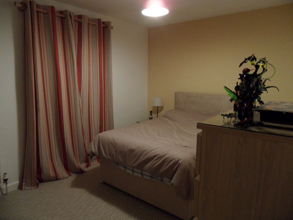 Yeah, it's a bit bland, but I'm not living out of one bedroom anymore. It can afford to be completely generic.