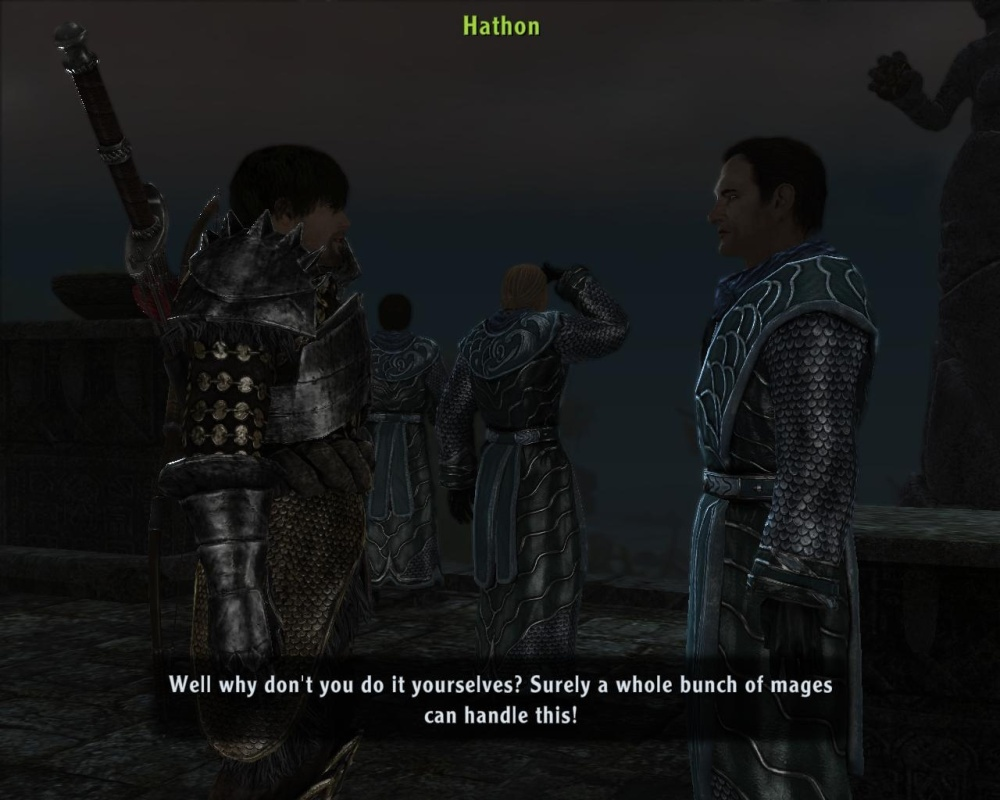 It's a good question, hero. Don't get me wrong, there are plenty of stonkin' good lines scattered throughout the game too.