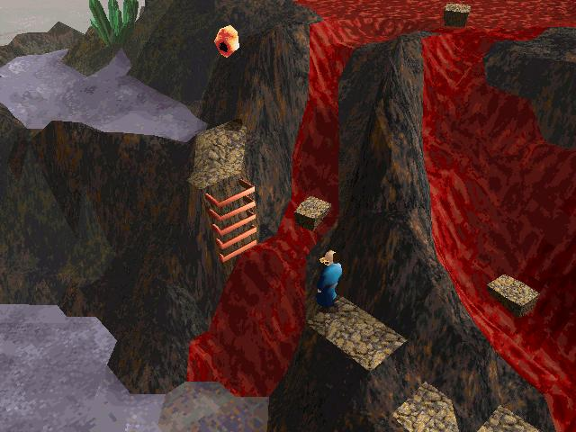 Of course, there are occasionally some hideous jumping puzzles to keep you from enjoying yourself *too* much.