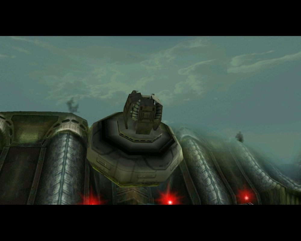 This is basically the finale of Crysis, except it leads to a more interesting boss fight.