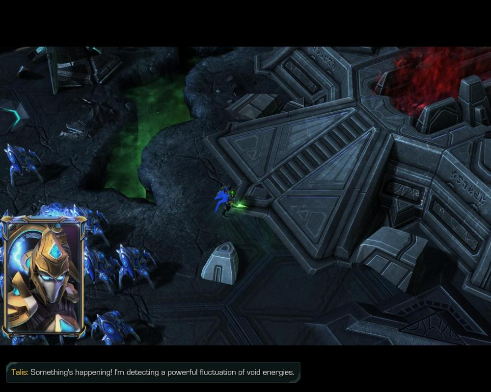 Void energy, nooooo! ... Wait, Zeratul uses the Void, wouldn't he WANT this?