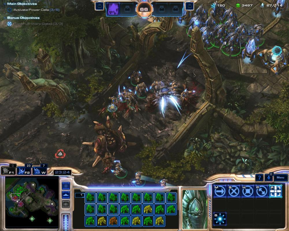 Individual protoss units might be fairly tough but the myriad forms of hybrid are even tougher.