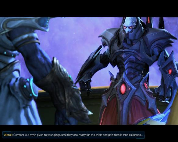 Emo protoss Alarak is a wonderful addition to the roster.