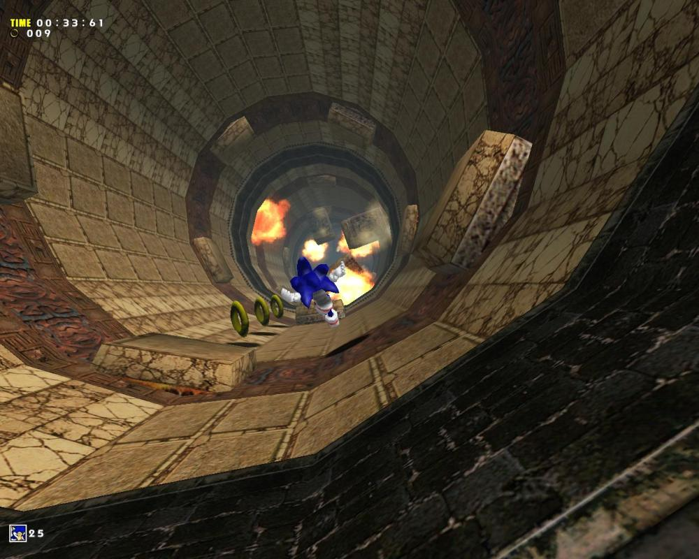 Cylindrical tunnels seem like a great idea until you get upside down and the controls break.