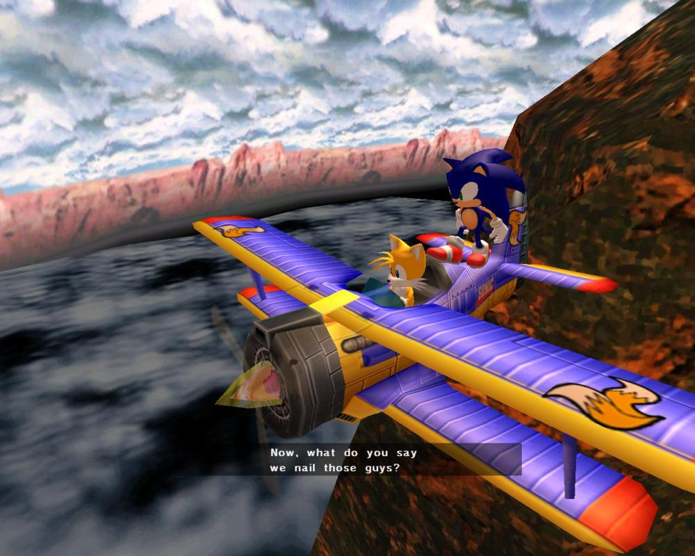 Sonic, that's disgusting. This game is 3+, you can't say things like that!