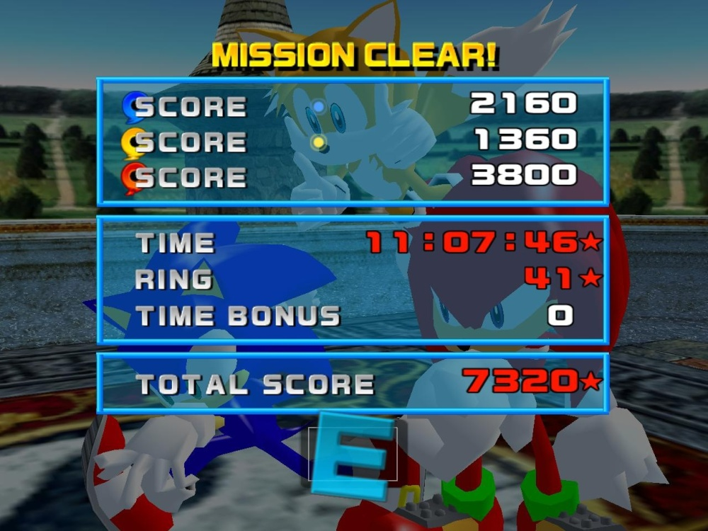 """""""Just enough to pass,"""" Knuckles says."""