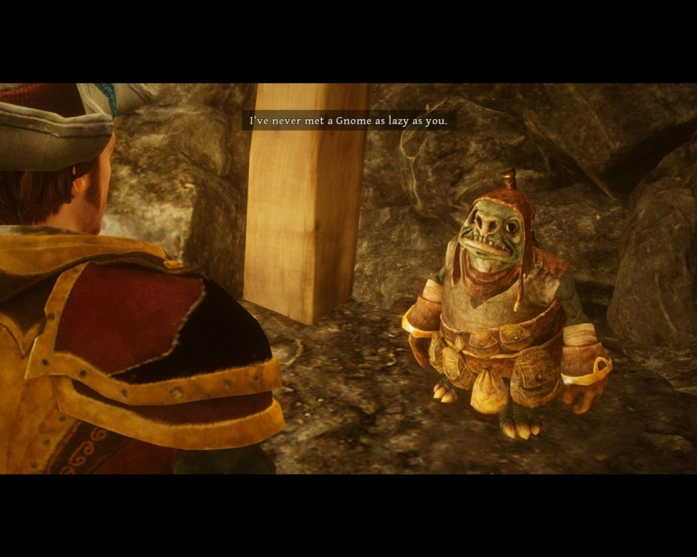 Even the gnomes are awesome. Have you ever played a game where the GNOMES are cool?