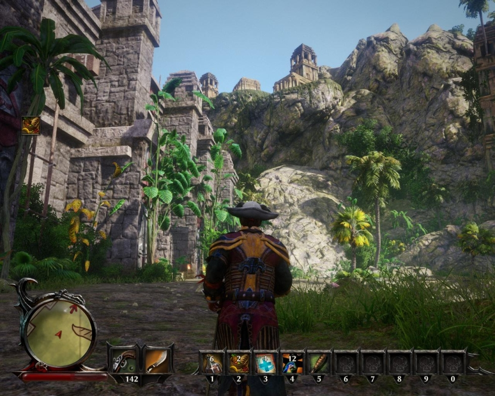 You had me at palm trees... I haven't even managed to open the Ancient Gate here yet, it's gonna be good!