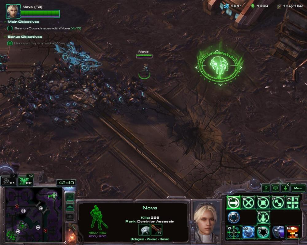 I... I may have wiped out more of my own units as collateral from nuclear strikes than the zerg ever killed.
