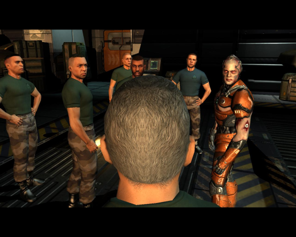 """It ends with a """"you have new orders"""", but as usual sequels or mission packs have never come. Rage was a bit crap, id, why didn't you do Quake 5?"""