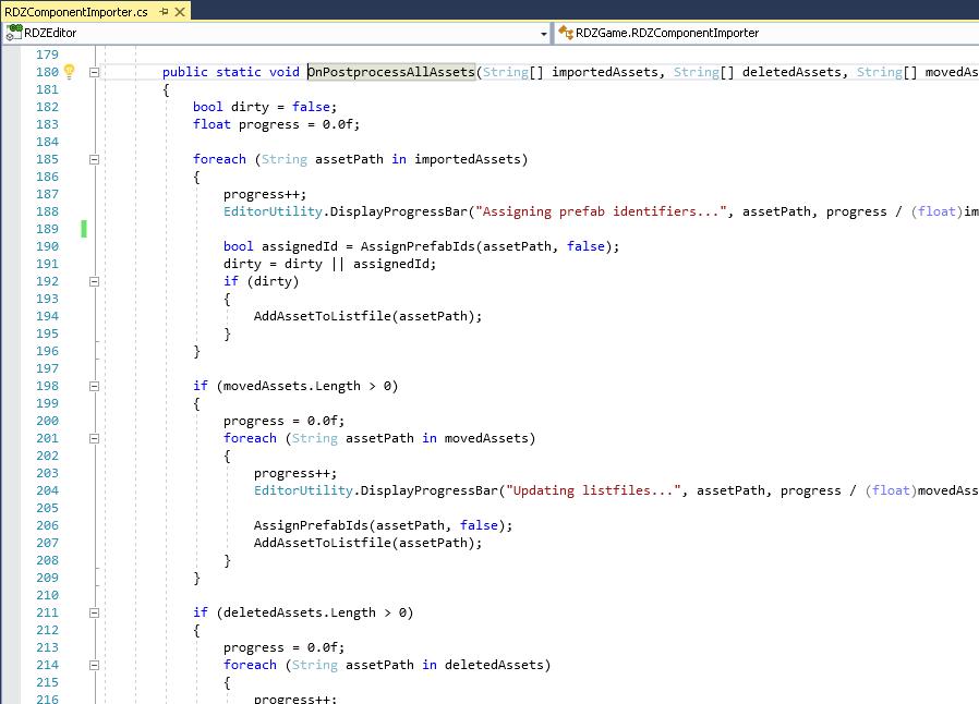 Asset postprocessor example
